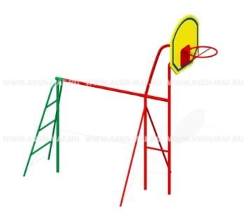 Баскетбольная стойка Т-1