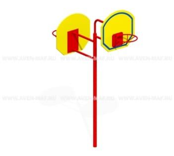 Баскетбольная стойка Т-43м