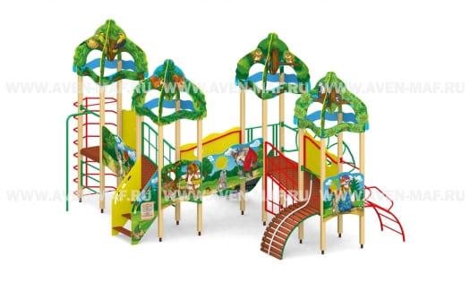 Детский городок Г-6 Лесные звери
