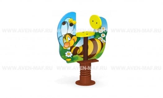 МК-21н Качалка на пружине Пчелка