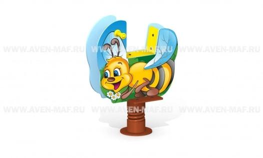МК-21 Качалка на пружине Пчелка
