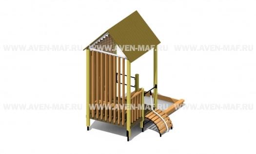 ПЕ-100 Песочный дворик Industrial