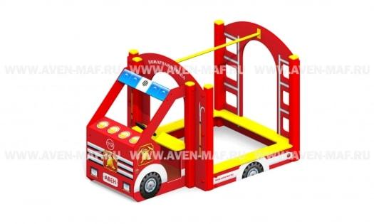 П-11 Песочница Пожарная машина 2395х1480х1500