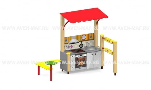 РК-4.1 Кухня игровой элемент 2090х1240х1660