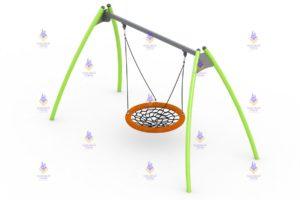 1190 Качели для детей с ОВ с механизмом качания Размер 2100х1550х3450