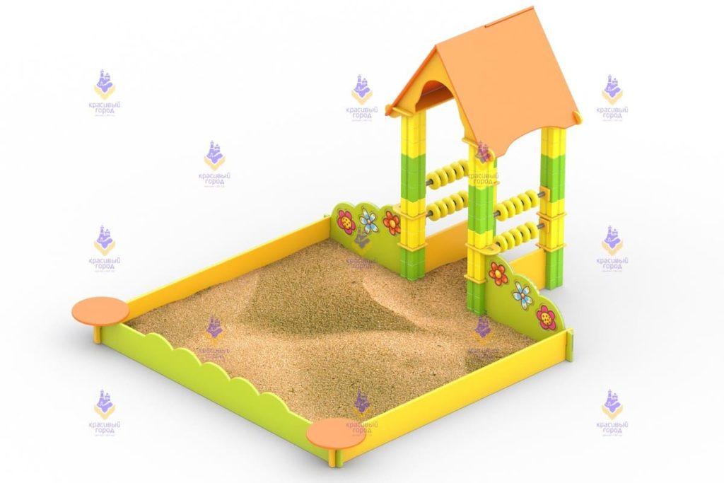 1237 Игровая песочница Размер 2600х2400х1800