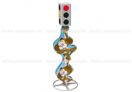 3-х секционный светофор МП-5 Обезьяны