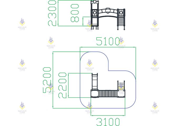 ИК Переход замок