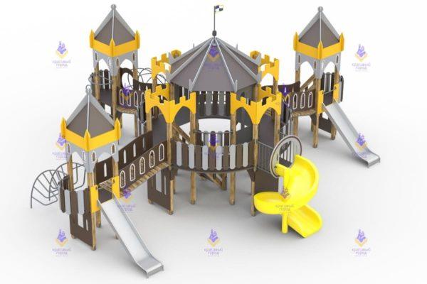 3901 ИК Замок людоеда Размер 10250х9000х5250