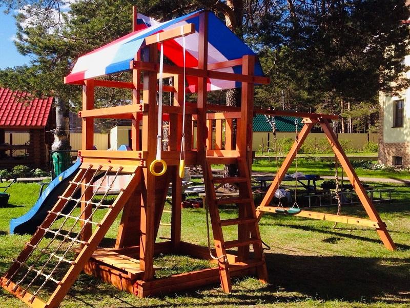 Игровой комплекс для дома и дачи