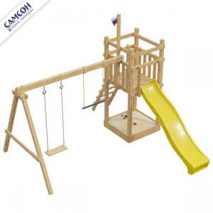 Деревянная игровая площадка 1-й Элемент