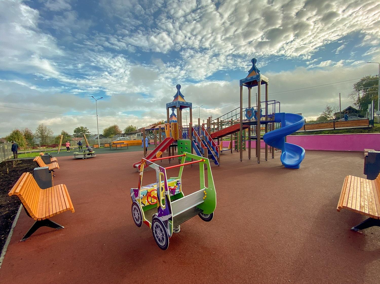 Детский игровой комплекс Скиф
