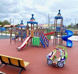 июль 2020 Детская игровая площадка в п. Кормовище